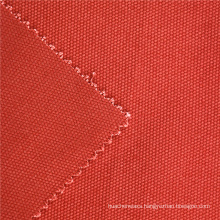 Rofessional Shoe Fabric Promotion brick red 350GSM Canvas For Shopping Bags